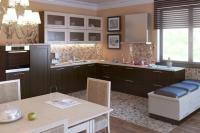 дизайн интерьера кухни москва кухни