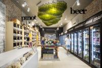 дизайн интерьера магазина вин кафе, рестораны, бары, магазины