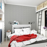 дизайн проект маленькой студии 25 кв.м. канаш квартиры