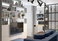 дизайн интерьера квартиры на московском проспекте квартиры