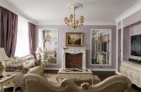 интерьер квартиры в классическом стиле 137 кв.м. чебоксары квартиры