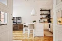 дизайн интерьера, квартира площадью 47 кв.м. гостиная
