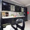 Удалённый дизайн проект кухня Чебоксары черная