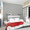 Дизайн проект маленькой студии 25 кв.м. Канаш