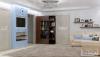 дизайн голубой гостиной гостиная