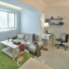 Дизайн интерьера квартиры-студии 32 кв.м.